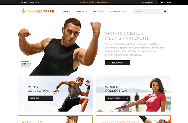 project photo for Magento design