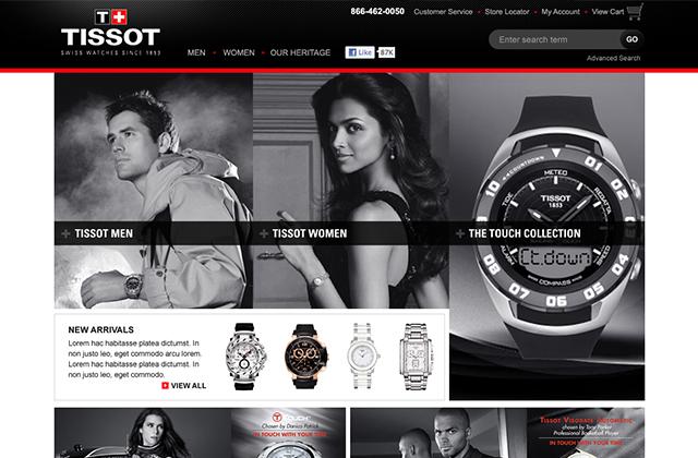 Tissot brand design