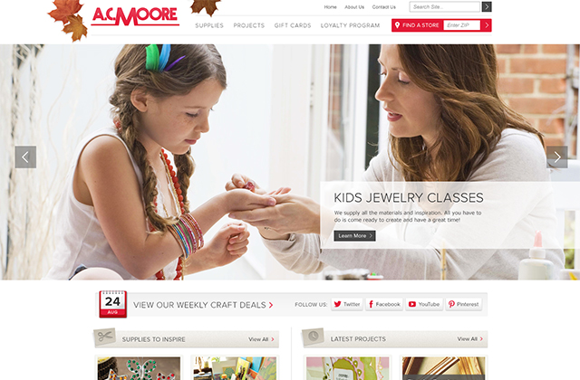 home for Magento web design