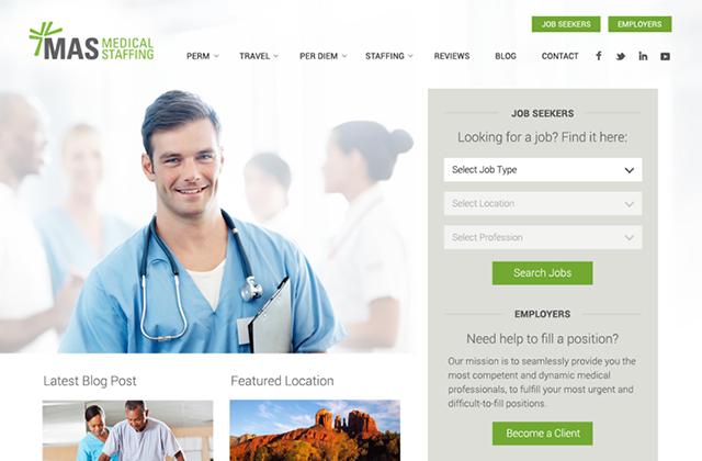 home for WordPress website design