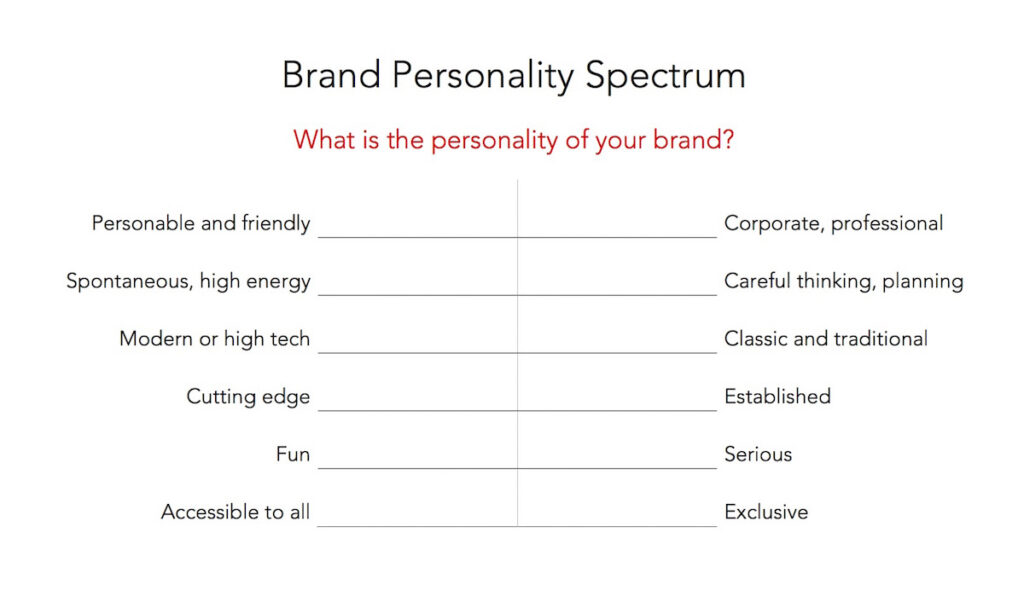 Let your brand personality shine | 11 Simple Steps for a Successful Brand Building Process