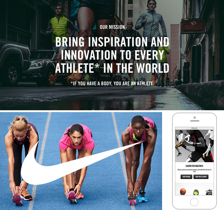 Define a branding mission statement | Nike brand | 11 Simple Steps for a Successful Brand Building Process