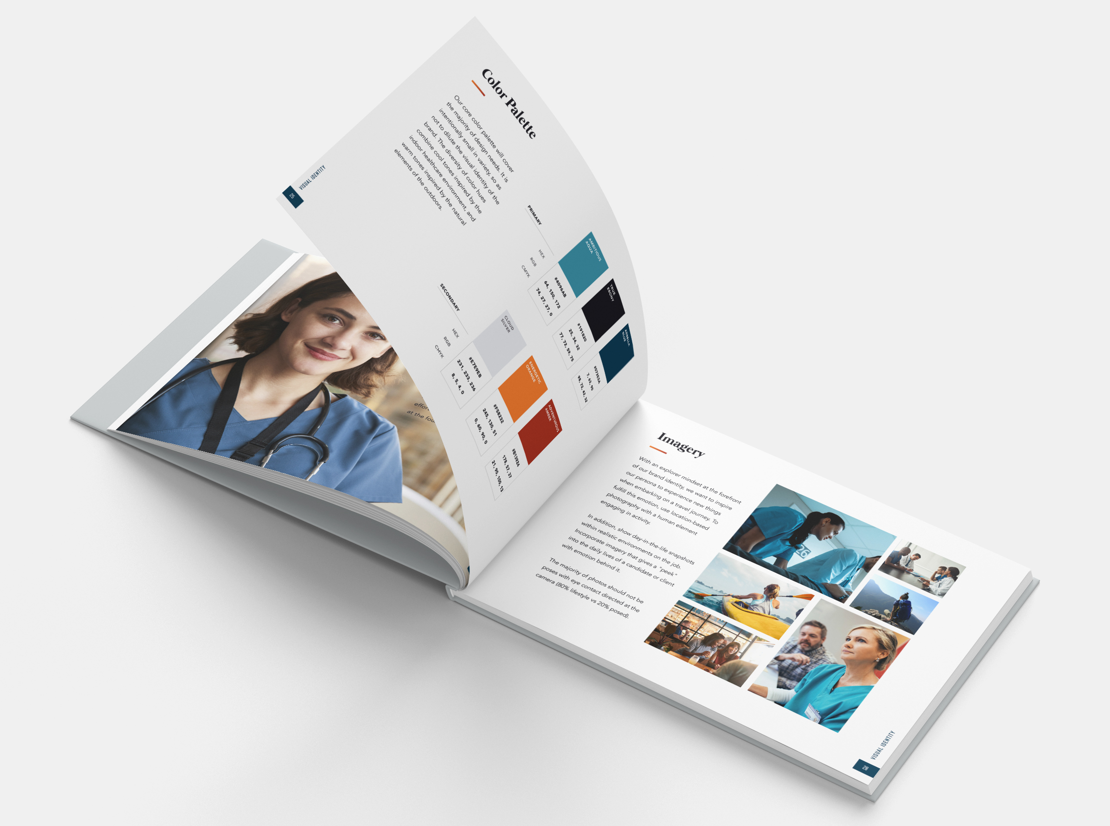 Brand Guide Book   Abbella Medical Staffing