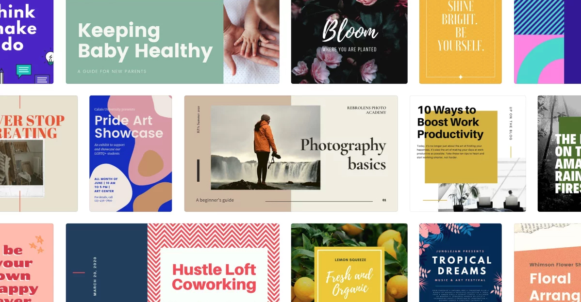 Canva graphic design tool   Blogging Tips and Tricks for Beginners