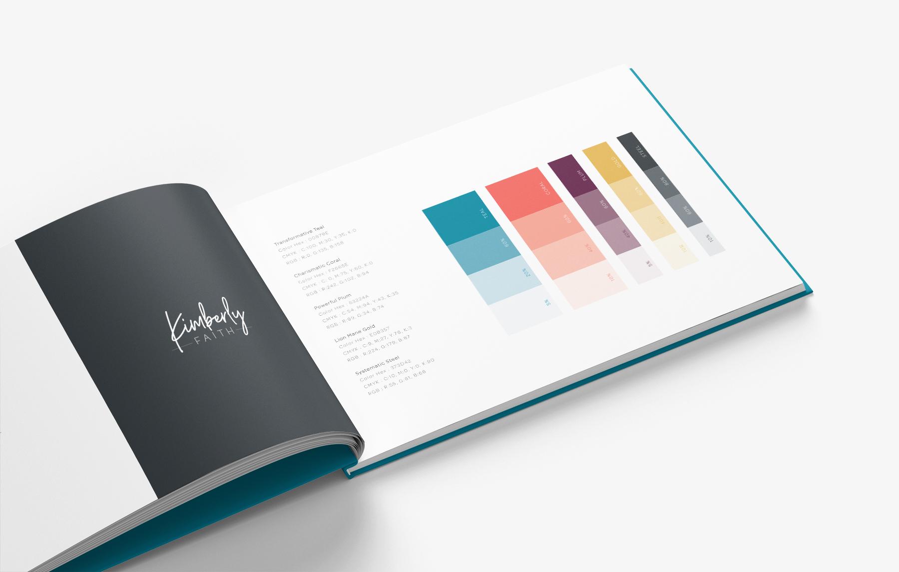 Kimberly Faith Brand Colors