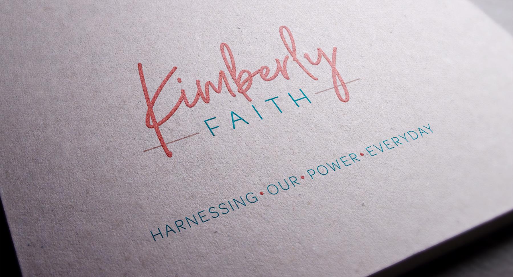 Kimberly Faith Logo Identity Design