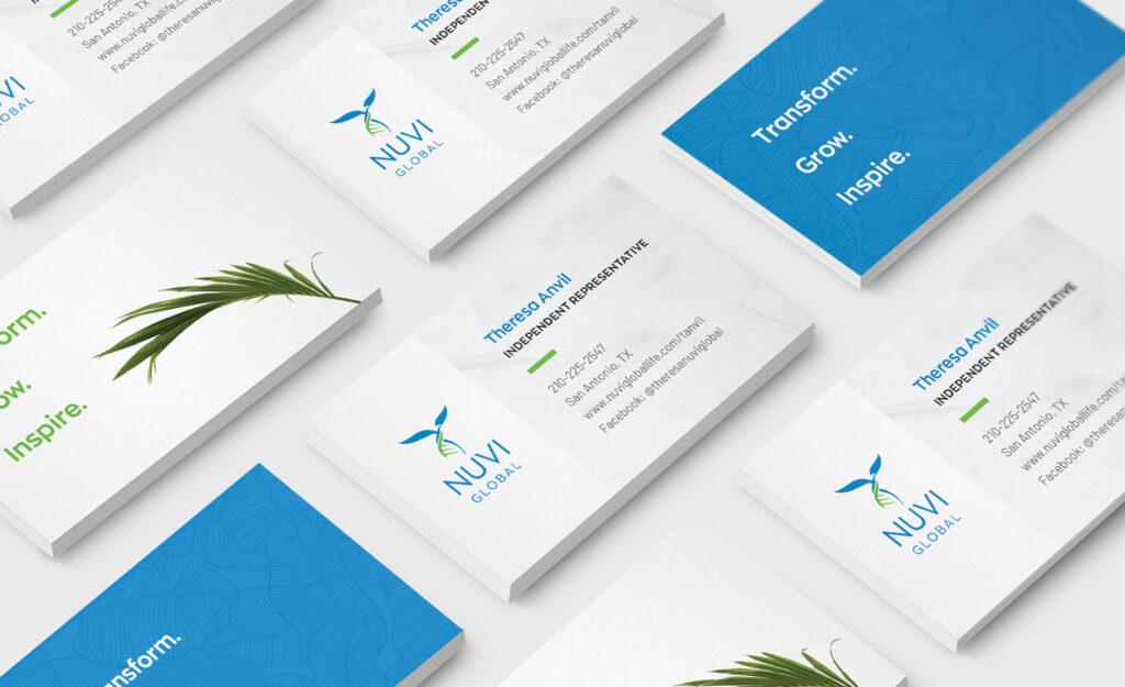 Nuvi Global - Health and Wellness Branding