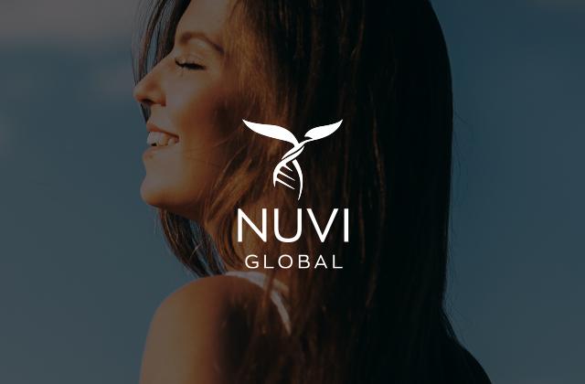 Nuvi Global wellness branding