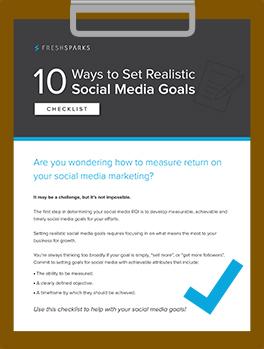 10 Ways to Set Realistic Social Media Goals
