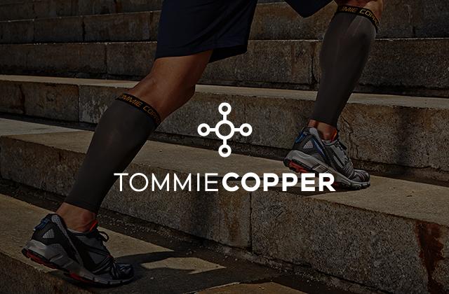 Tommie Copper branding